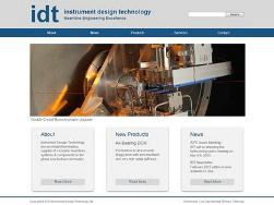 New IDT Website